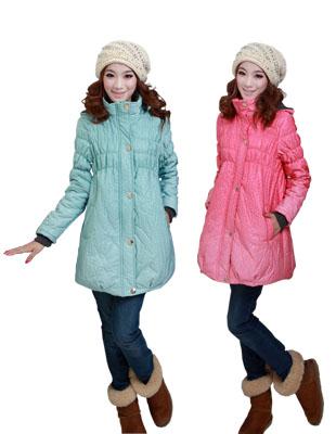 Maternity clothing winter maternity wadded jacket maternity thermal overcoat fashion maternity thickening cotton-padded jacket(China (Mainland))