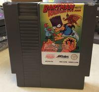 72pin 8bit game card Simpsons, The - Bartman Meets Radioactive Man