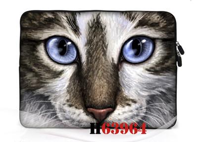"Pet laptop bag 12"" 13"" 14"" 15"" 17"" Inch Tablet PC printing protective sleeve waterproof neoprene Netbook Sleeve 4 pattern(China (Mainland))"