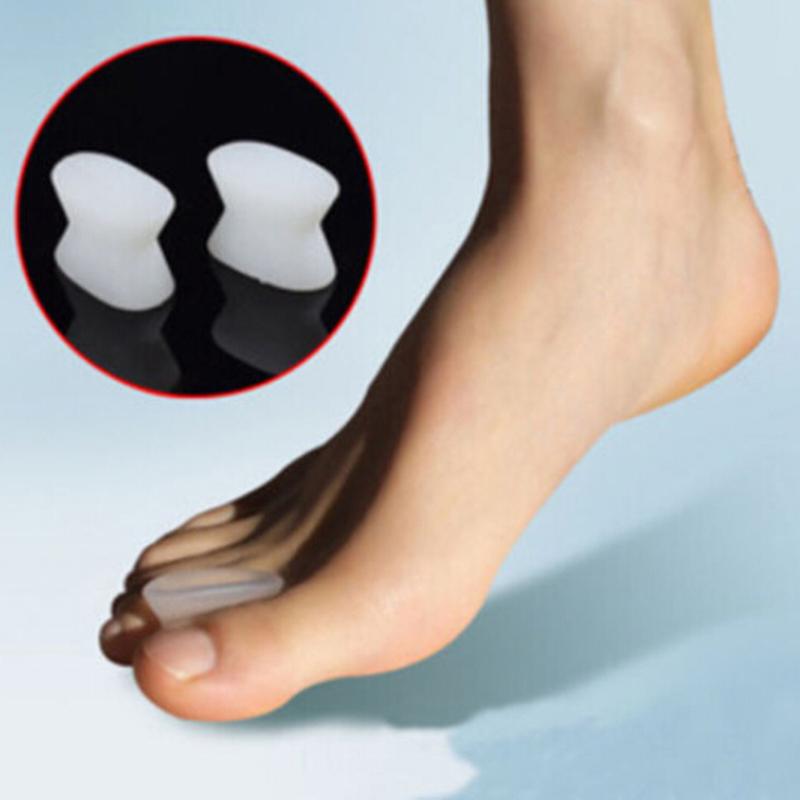 2Pcs Sub-toe toe separator thumb finger big feet device pad toe pads thumb valgus corrector