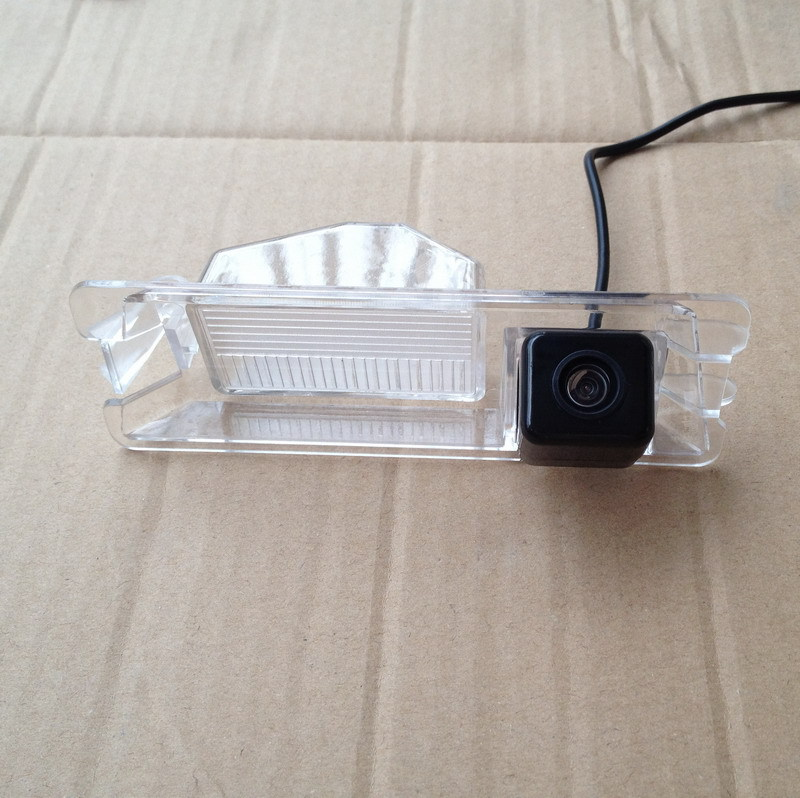 Hot Sale !!! SONY CCD Chip Car Rear View Reverse Mirror Image With Guide Line CAMERA for Nissan March Renault Logan Sandero(China (Mainland))