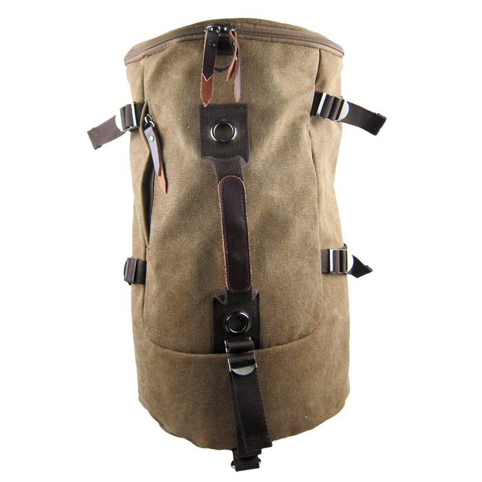 2015 Popular Large Capacity Outdoor Mountaineering Canvas Backpack