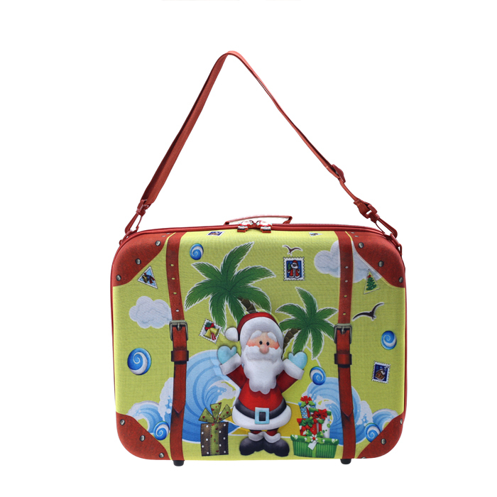 Hot new light EVA one shoulder quality children portable luggage bag best choice Christmas birthday gift for boys and girls(China (Mainland))