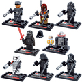 New Star Wars minifigure Single sale Kylo Ren BB 8 R5 D4 Classic figures Collection Children