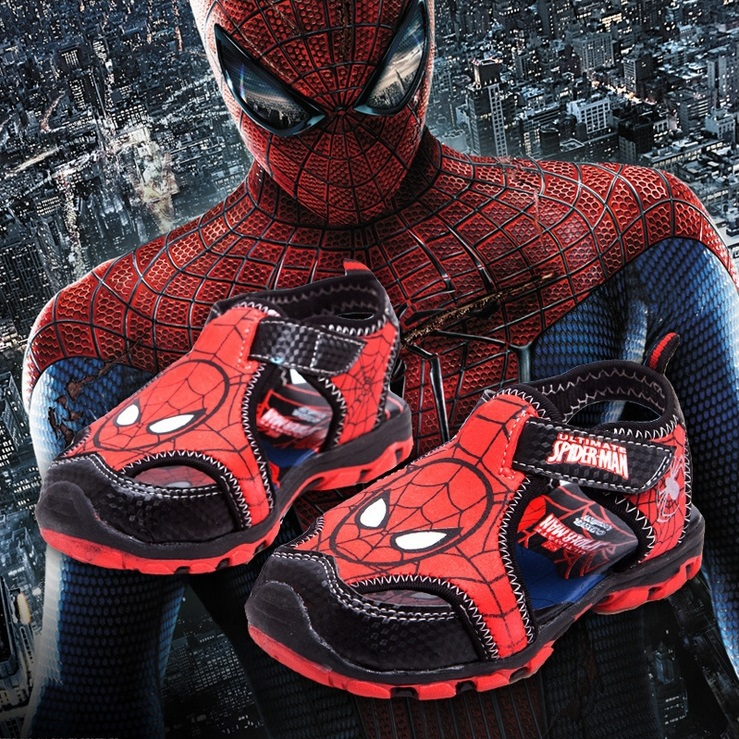 Здесь можно купить  Wholesale 2015 new Babys, Kids Boys Sandals spider man Baotou playing sports shoes ZZ-128  Детские товары