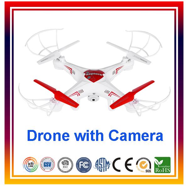 Здесь можно купить  2015 New Arrival DWI X6 2.4G 4CH RC Quadcopter Remote Control Helicopter RC Drone with 0.3MPCamera VS Syma X5C Free Shipping  Игрушки и Хобби