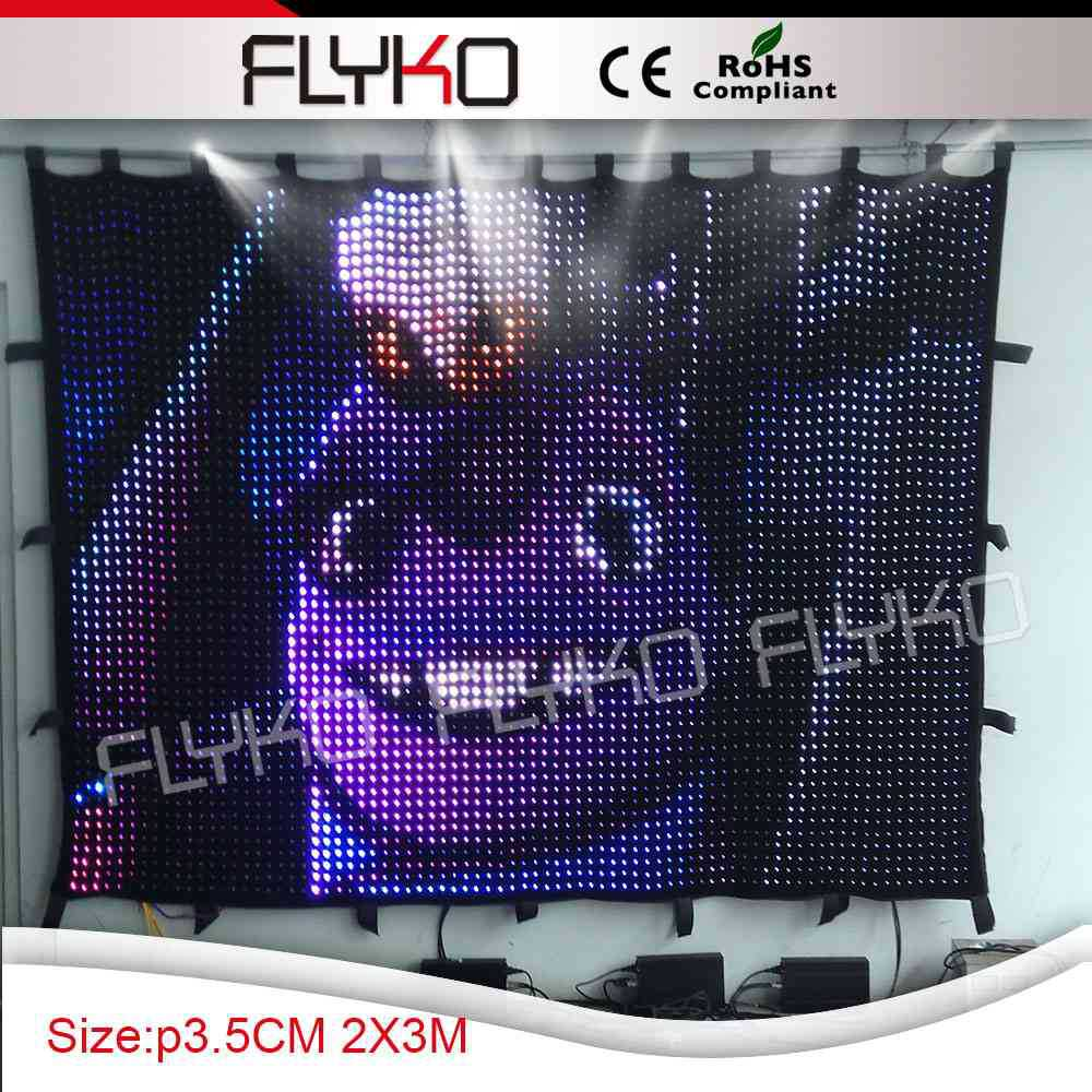 newest technology extreme light weight indoor full color led stage backdrop(China (Mainland))