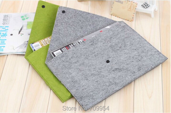 "11""11.6""13""13.3""15""15.4"" Laptop Case Cover Envelope Netbook Sleeve Woolen Felt Bag For Apple Macbook Air Pro(China (Mainland))"