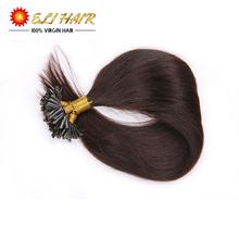 Black 18″20″22″24″ 50G Natural Keratin Capsule Prebonded U/Nail Tip Hair Extension Flat Tip Hair Extensions19colors 100s/bag