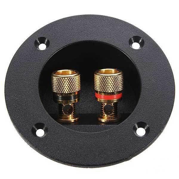 GlenBrook Speaker Box Terminal Round Spring Cup Connector Subwoofer Plug(China (Mainland))