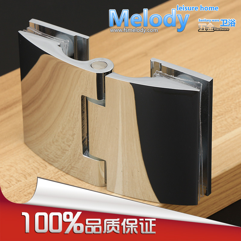 "Glass to Glass Offset Hinge for 8-12mm 3/8""-1/2"" Thickness Glass Polished Chrome Shower Door Hinge(China (Mainland))"
