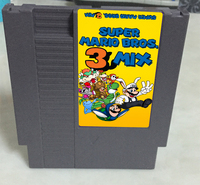 New arrival 72 pins 8 bit game cartridge free shipping --- Super Bros.3 Mix
