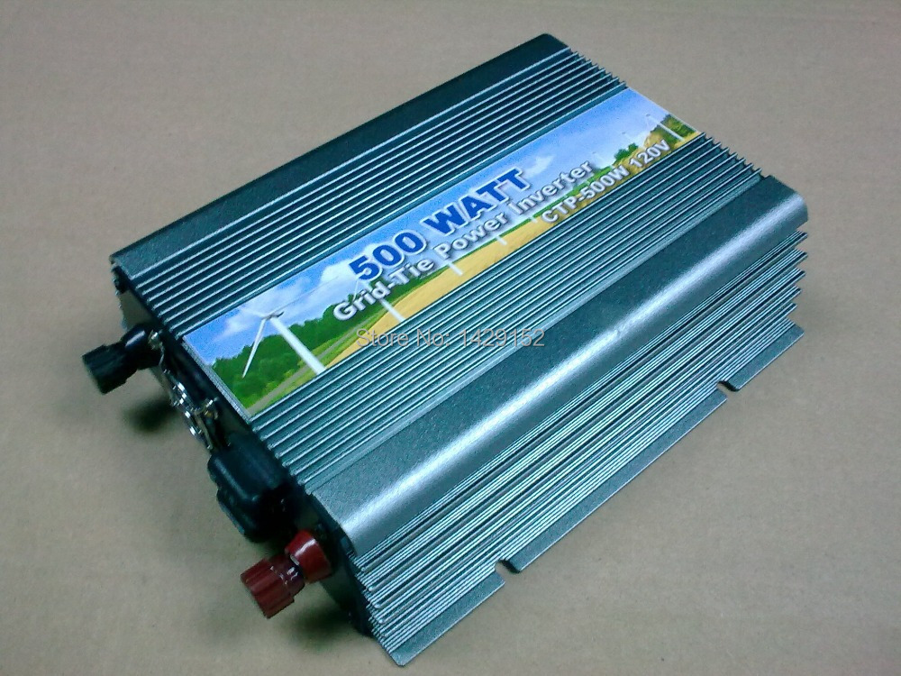 New system 500w solar grid tie inverter AC90-260v,dc10.8-28v without battery to solar system use 500w power inverter(China (Mainland))