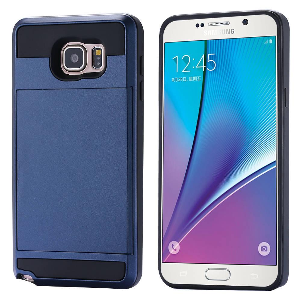 5 Via DHL Luxury Slim Hybrid Tough Capa Case Samsung Galaxy Note N920K Card Slider Armor Cover Mobile Phone Bags - Shenzhen RCD Technology Co., Ltd. store