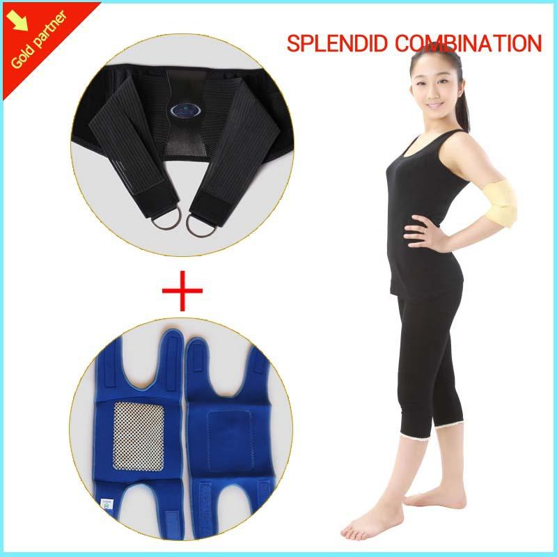 back belt men posture corrector neoprene back lumbar support belt elbow pad kneepad free shipping sports brace 2016 hot selling(China (Mainland))