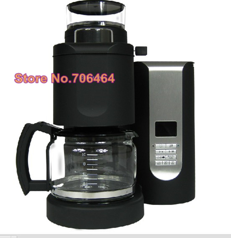 Drip Coffee Maker Meaning : Fashion Fully automatic drip coffee maker all in one button with grinder Portable eletric coffee ...