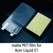 Glossy Clear Lucent Frosted Matte Anti glare Tempered Glass Protective Film On Screen Protector For Acer Liquid E1 Duo V360