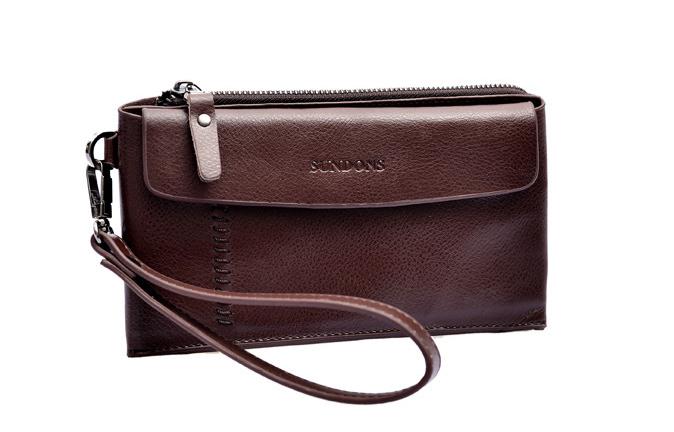Men Long Design Clutch Wallet Bag Man Card Wallet Men Genuine Leather Cowhide Zipper Long Design Purse Men Male<br><br>Aliexpress