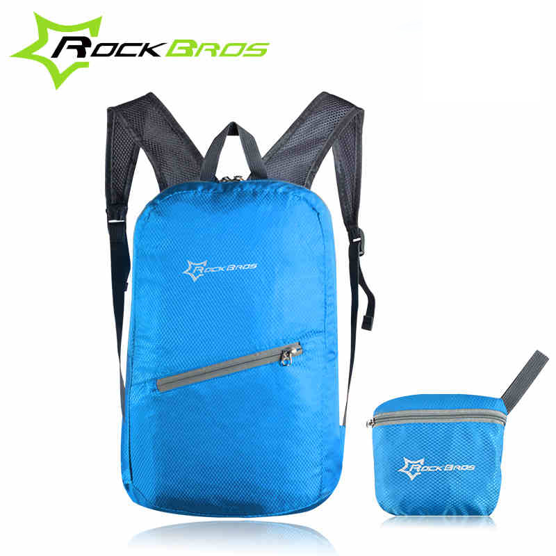 ROCKBROS Cycling Waterproof Bicycle Bag Leisure Sports Bags Ultralight Bike Backpack Breathable Portable Folding Backpack Bag(China (Mainland))
