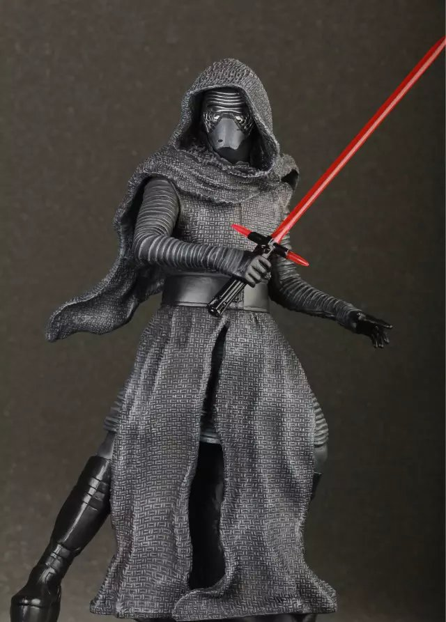 Star Wars The Force awakens Kylo Ren Action Figure PVC 16CM Model Toys Kids Gifts Collection Free Shipping(China (Mainland))