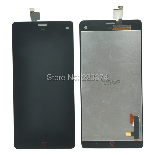 Original For ZTE Nubia Z7 mini LCD With Touch Screen Digitizer Assembly Black Free Shipping