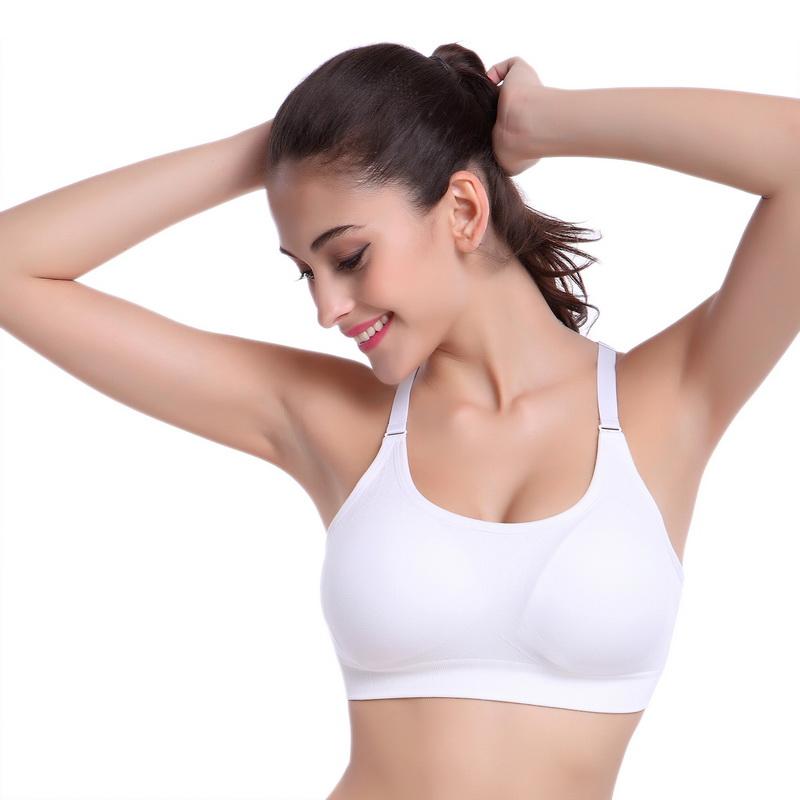 Sports Bra With Underwire And Padding - Backless Bra