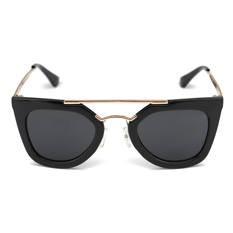 cat eye sunglasses women black pink vintage gafas oculos de sol feminino escuro real new 2015 fashion club master - Wonderful girl store