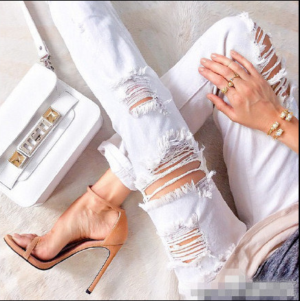 Nudist Summer Style Original Quality Impera Women Sandals Boots High Heels Ankle Strappy Gladiator Women Pupms shoes woman