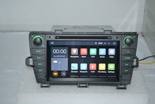 "2 din 8""Android 5.1.1 for Toyota prius left car dvd,gps navigation,wifi,3G,quad core,1024x600,support DVR,OBD2,russian,english(China (Mainland))"