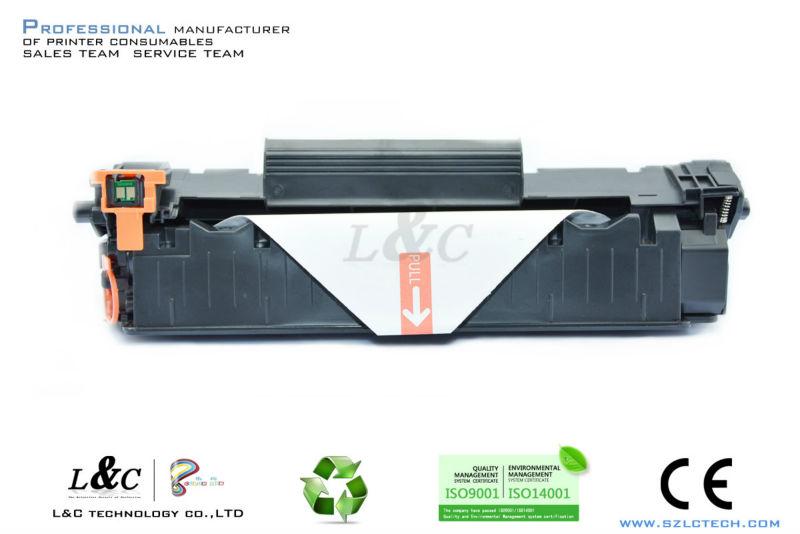 35A Toner compatible for HP CB435A toner cartridge Top laser black toner cartridge 35A/CB435A for HP(China (Mainland))