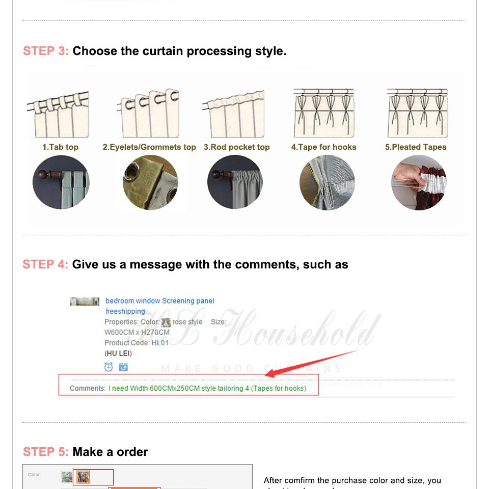 how to make the curtain size_02 - 1