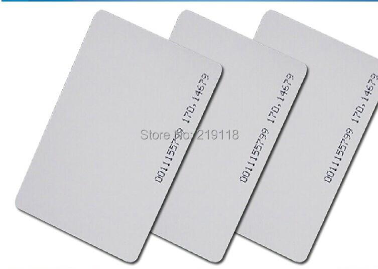 produto Free Shipping 100PCS EM ID CARD 4100/4102 reaction ID card 125KHZ RFID Card
