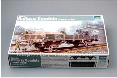 Trumpeter 01518 1/35 German Railway Gondola(Lower Sides) Assembled model Armoured ground(China (Mainland))