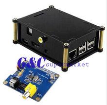 Acrylic Case For Raspberry Pi 2 model B / B+ HIFI DiGi+ Digital Sound Audio Card(China (Mainland))