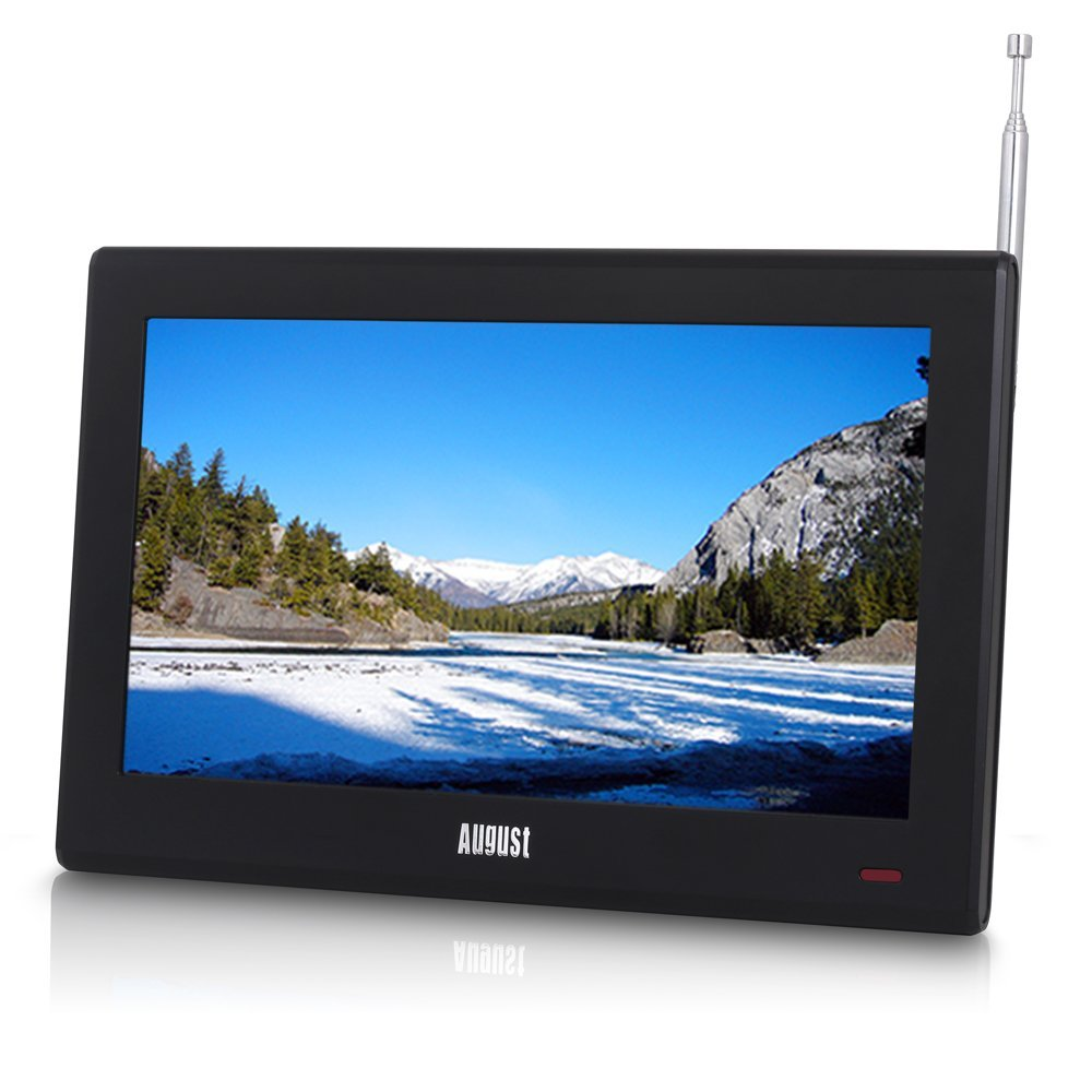 """[2016 UPDATE] August DA100D - 10"""" Portable HD Freeview TV - HDMI Monitor with DVB-T and DVB-T2 Tuner / PVR / Multimedia Player(China (Mainland))"""