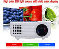 Big Discount 2015 LED Mini Portable HDMI USB Video LCD 1080P 3D hd Home Theater Projector