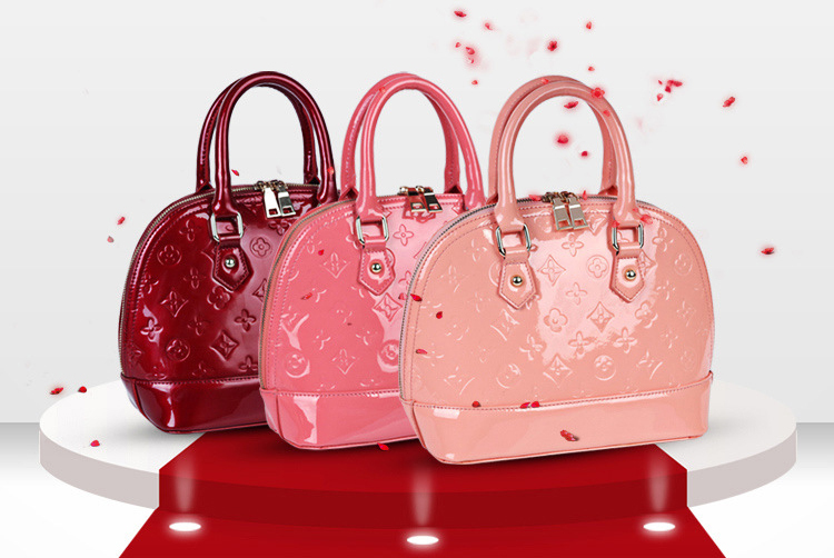 Fashion European genuine leather female shell handbag women dumpling single shoulder bag totes - tianji store