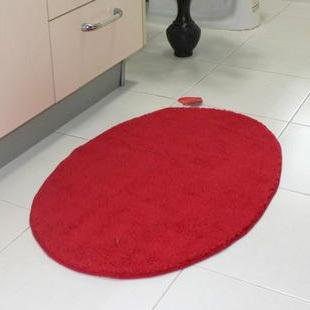 Red Oval Bathroom Rugs - Best Bathroom 2017