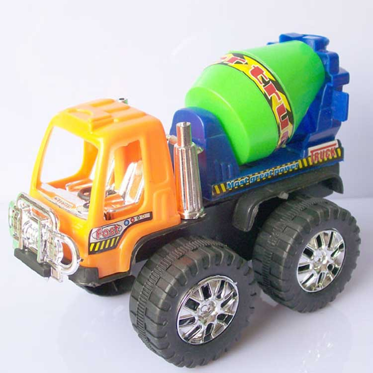 Chinese car toy plastic model truck excavator mixer truck children toy vehicle toy(China (Mainland))