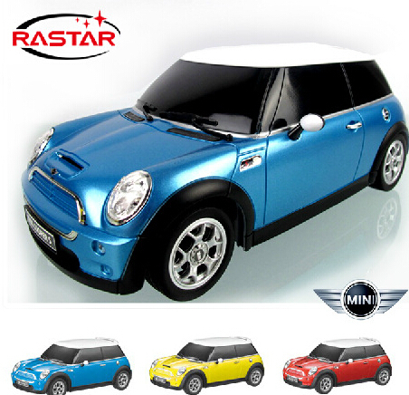 Free shipping RASTAR MINI COOPER rc car educational gift for children electric car model and Collection 15cm(China (Mainland))