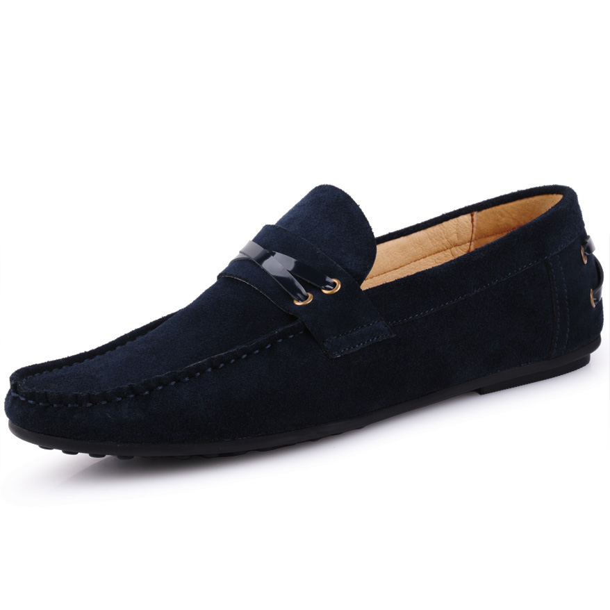 2015 Summer Driving Shoes Genuine Leather Mens Loafers Casual Flats Shoes For Man Top Quality Leather Shoes <br><br>Aliexpress