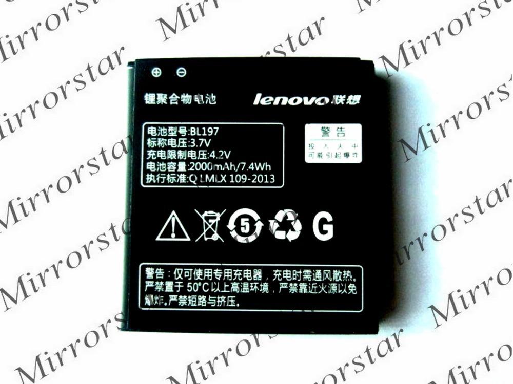 New BL197 Battery For Lenovo A800 A820 A798t S720 S720i S750 S870e S868T S889 BL-197 Batterie Batterij Bateria(China (Mainland))