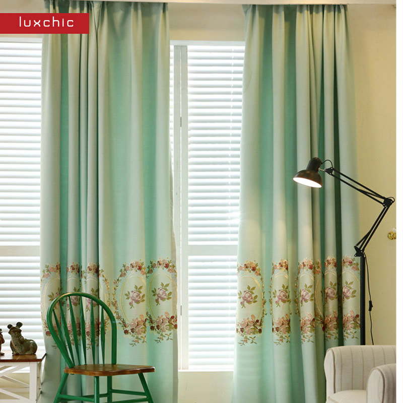 1 pc Blackout Curtains for Living Room Modern Window Curtains for the Bedroom Kids Curtains for Children(China (Mainland))
