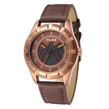 Cuero genuino relojes, 10 M resistente al agua, movimiento de cuarzo japonés, Durable Power Mens relojes de primeras marcas de lujo 2015