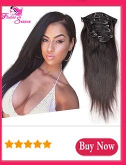 Cheap Clin In Human Hair Extensions For Black Women 70-160 Gram Human Hair Body Wave Virgin Brazilian Clip In Extensions