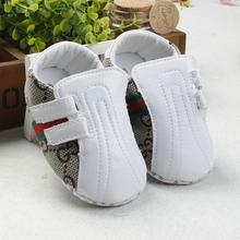 Stylish Design Newborn Shoes Cute Exterior Comfortable Baby Shoes Soft Bottoms Breathable Toddler Shoes 2016(China (Mainland))