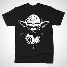 Famous Star Wars Yoda Movies T Shirt New Logo Design Men Tee Shirts Master Funny Tee Fashion Star Wars T-Shirt