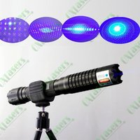 oxlasers OX-BX5 445nm 2000mw-4000mw burning focusable blue laser pointer (5 star caps) with safety glasses+Free Shipping