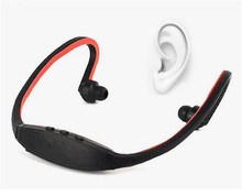 Best selling Digital Mp3 players Micro SD TF Card Headset Wireless Sport MP3 Player Earphone with FM/TF Radio Card MP3-10(China (Mainland))