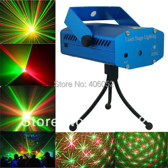 Red & green RGB mini stage sound/auto controled party stroboflash holographic lighting ktv dj disco laser projector stroboscopic - Shenzhen Joyland Optoelectronics Technology Co. , Ltd store